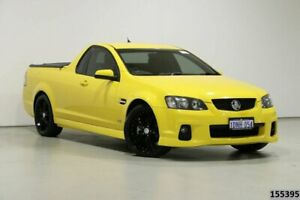 2010 Holden Commodore VE II SV6 Yellow 6 Speed Manual Utility Bentley Canning Area Preview