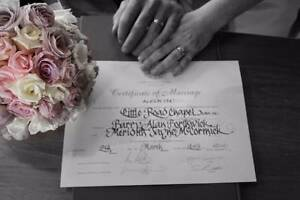Civil Ceremonies - Experienced Celebrant FROM $350 Officer Cardinia Area Preview