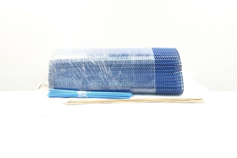 Intralox 2400 Blue Radius Acetal Conveyor Belt 19.6ft X 31.9in