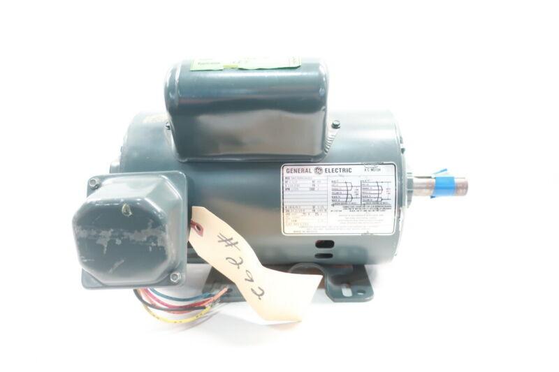 General Electric Ge 5KC49WG6002 Ac Motor 145t 1ph 1-1/2hp 1725rpm 115-230v-ac