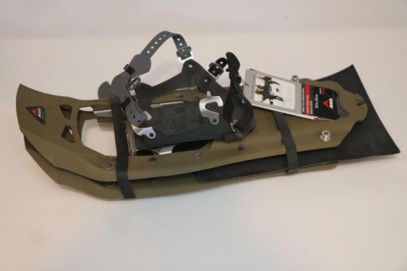 "New MSR Evo Trail Hiking Snowshoes 22"" Green"