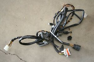porsche 996 986 boxster front trunk left headlight wiring wire harness 2000 2002 ebay