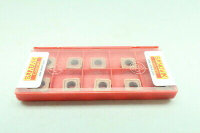 Pack Of 10 Sandvik 880-06 04 06h-c-gr 1044 Coromant Carbide Insert