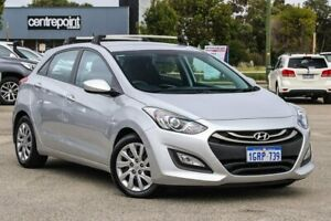 2015 Hyundai i30 GD3 Series II MY16 Active Silver 6 Speed Manual Hatchback