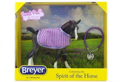 Breyer Sweet Pea  - Traditional Horse Foal Amber + Blanket + Bracelet NIB 1749