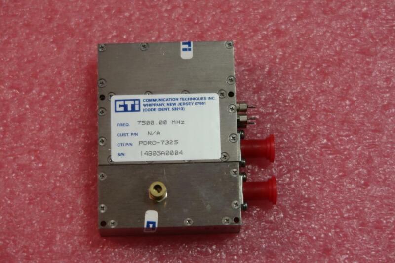 CTI Communication 7500.00 MHz