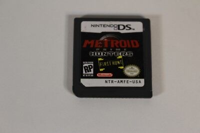 Nintendo Ds Metroid Prime Hunters First Hunt Video Game Free Shipping