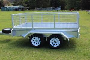GOLD COAST Tandem Axle Box Trailer OZZI 9x5 NEW Molendinar Gold Coast City Preview