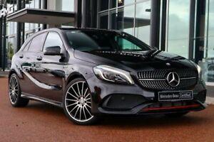 2017 Mercedes-Benz A-Class W176 808MY A250 D-CT 4MATIC Sport Black 7 Speed