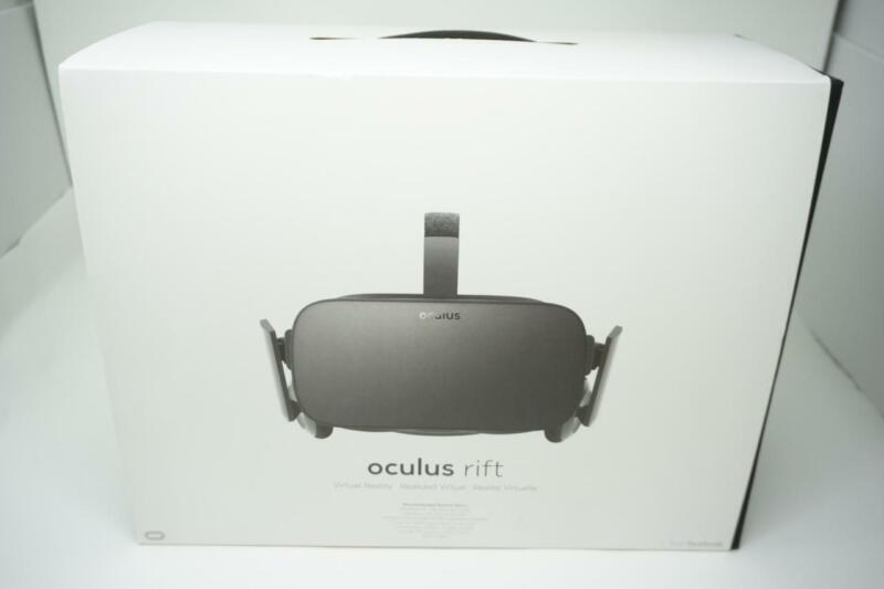 Oculus Rift CV1 VR Headset Virtual Reality Console System + Controller 01VGC009