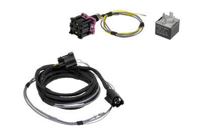 Original Kufatec Cable Loom + Relay Headlight Sra for Vw Golf 5/plus Jetta
