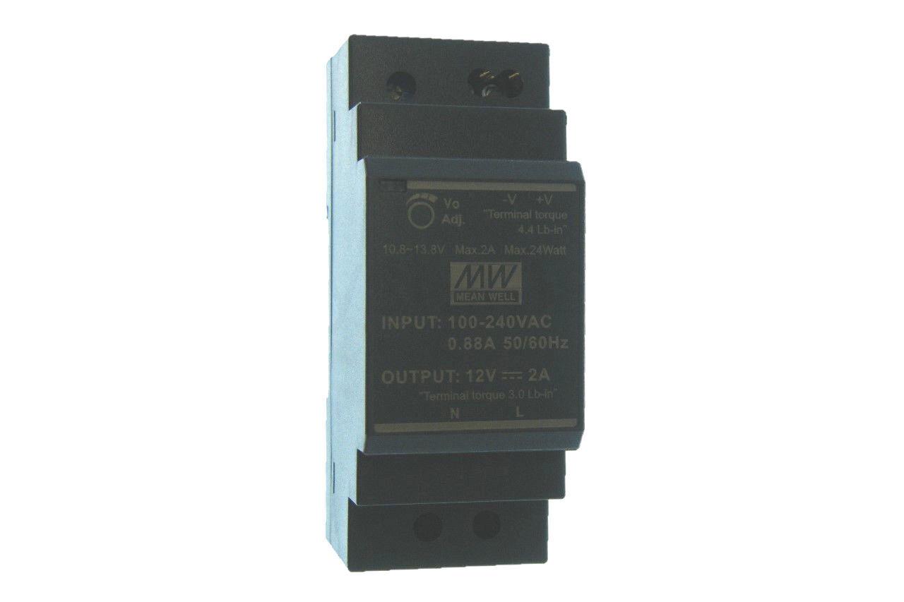 Hutschienen Netzteil MeanWell HDR-30-12 12V 2A 24W - Ultra Slim DC Netzteil