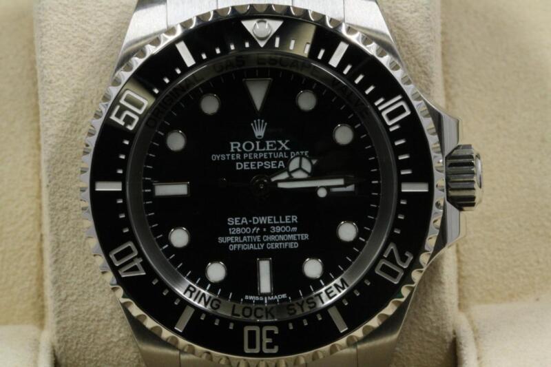 Rolex Deepsea 116660 Black Dial 2008 Model