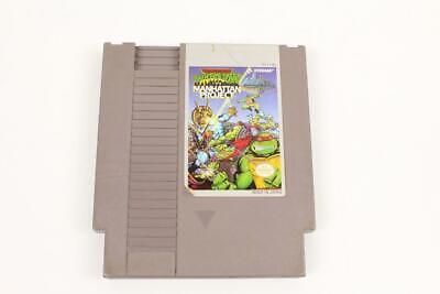 Nintendo NES Game Cartridge TMNT Turtles III Manhattan Project WORKS