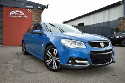 2014 Holden Commodore VF SV6 Storm Blue 6 Speed Sports Automatic Sedan Cannington Canning Area Preview