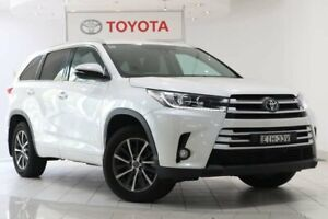 2019 Toyota Kluger GSU55R GXL AWD White 8 Speed Sports Automatic Wagon Waterloo Inner Sydney Preview