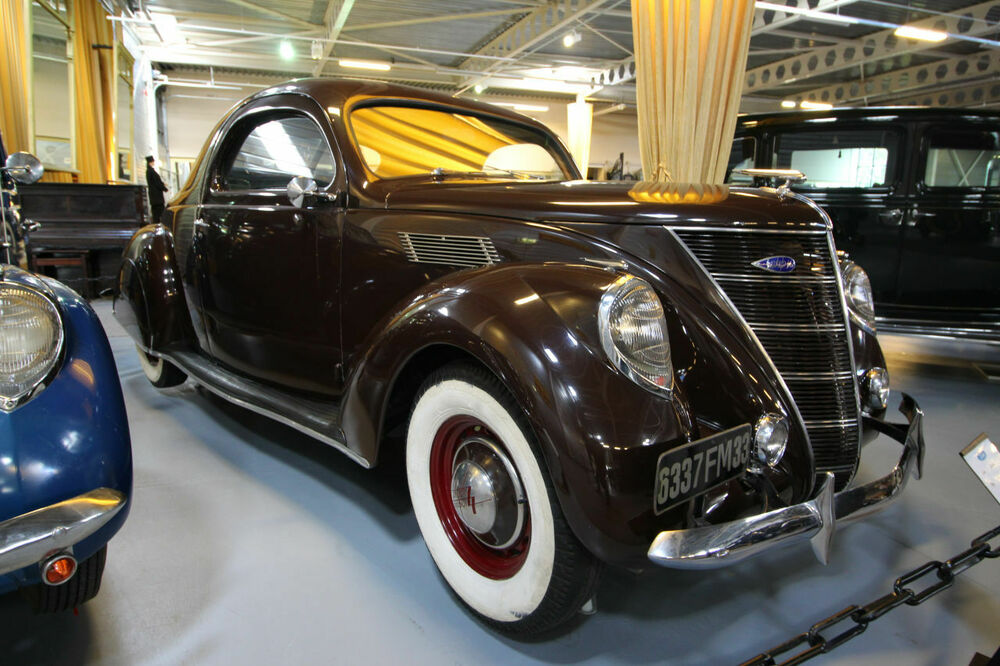 Lincoln 720 Zephyr Coupe 1937