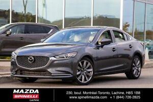 2018 Mazda Mazda6 Signature SUNROOF WHITE LEATHER FULLY EQUIPED