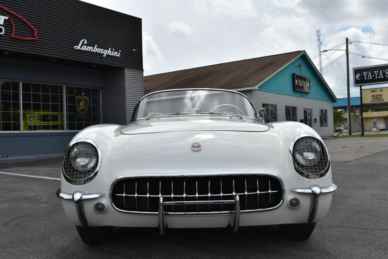 1954 White Chevrolet Corvette   | C1 Corvette Photo 6