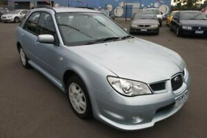 2007 Subaru Impreza G3 MY08 RS AWD Silver 5 Speed Manual Hatchback