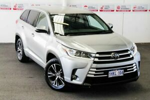 2018 Toyota Kluger GSU55R GX (4x4) Silver 8 Speed Automatic Wagon Myaree Melville Area Preview