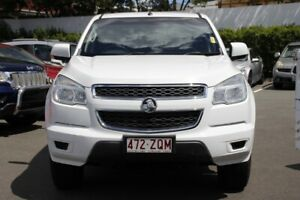 2015 Holden Colorado RG MY15 LS Crew Cab White 6 Speed Sports Automatic Utility Mount Gravatt Brisbane South East Preview