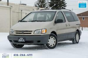 2000 Toyota Sienna NO ACCIDENTS CLEAN CARFAX SERVICED SPOTLESS L