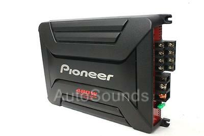 Pioneer GM-A4604 GM Series 480 Watts 4-Channel Class AB Car Audio Amplifier New