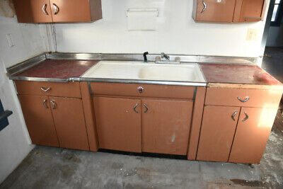 Vintage Youngstown Kitchen Cabinets - Diana Entire kitchen set with sink