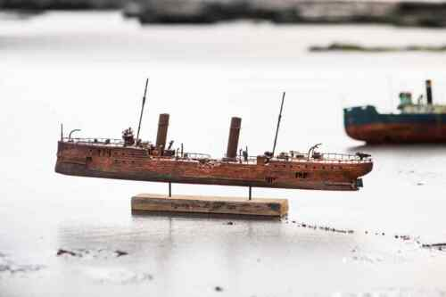 sea torpedo boat handmade ship ROSALES