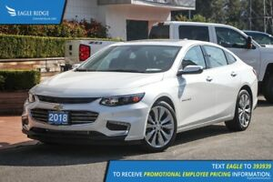 2018 Chevrolet Malibu Premier Navigation, Heated Seats, Backu...