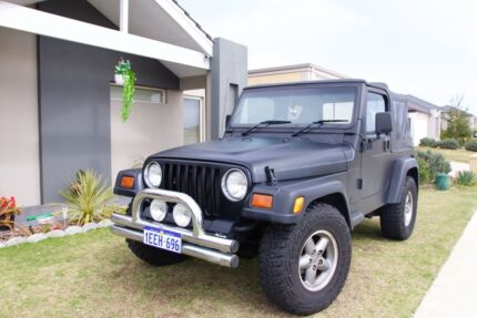 1997 Jeep Wrangler Sport 4x4 Automatic Soft Top / Hard Top Landsdale Wanneroo Area Preview
