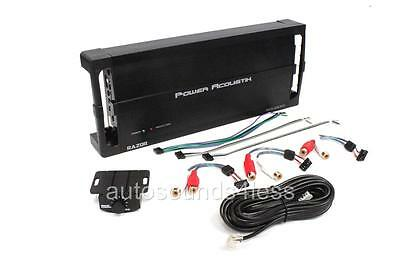 Power Acoustik RZ5-2500D Razor 2500 Watt 5-Channel Class D Car Audio Amplifier