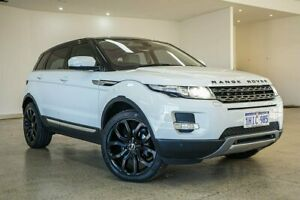 2012 Land Rover Range Rover Evoque L538 MY12 TD4 Coupe CommandShift Pure White 6 Speed
