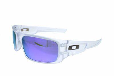 OAKLEY CRANKSHAFT Matte Clear I Violet Iridium Polarized 9239-09 ()