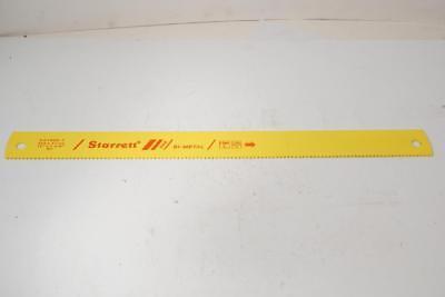 New Starrett Bi-metal 18 X 1-58 Power Hacksaw Blade. 6tpi. Bs1806-7
