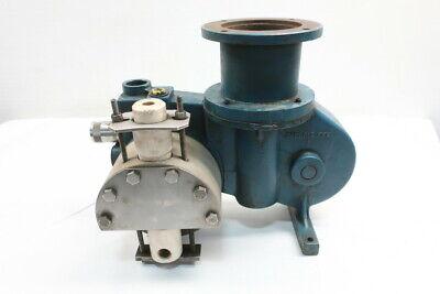 Milton Roy Fr-160-96 Controlled Volume Metering Pump 57gph 100psi