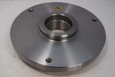 New Bison 8 Set-tru Lathe Chuck Back Plate 2-14 X 8 For South Bend Heavy 10