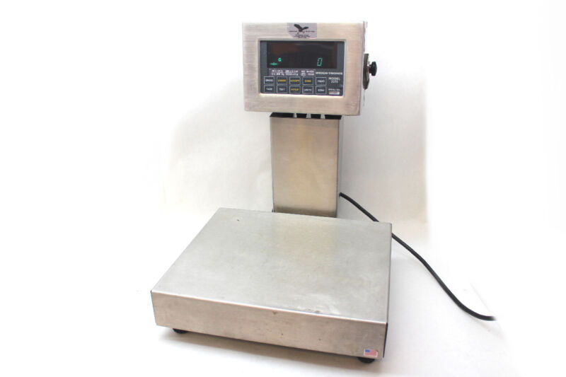 Weigh-Tronix 3275 Checkweigher 30Lb Capacity Stainless Steel Digital Scale