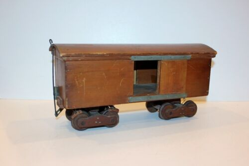 ANTIQUE & AUTHENTIC 1879 US PATENT MODEL NO. 215552 - Railroad Box Car-Coupling