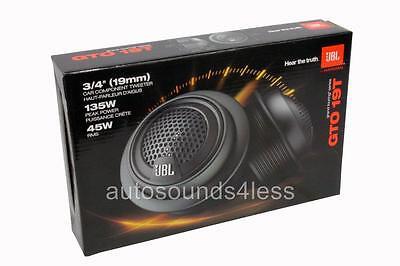 "JBL GTO19T 3/4"" Component Speaker - Pair"