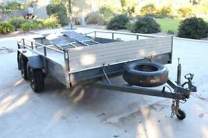 Trailer - flat top / golf buggy trailer / motorbike trailer Jandakot Cockburn Area Preview