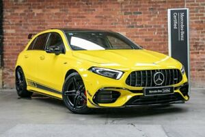 2020 Mercedes-Benz A-Class W177 800+050MY A45 AMG SPEEDSHIFT DCT 4MATIC+ S Yellow 8 Speed Mulgrave Monash Area Preview
