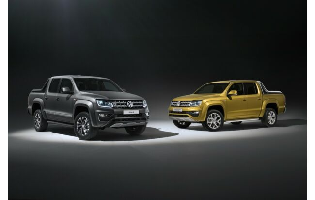 "VW Amarok ""Dark Label"" und ""Aventura Exclusive"""