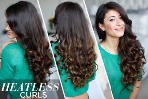 10 x Carmen Fashion Hair Styling Heatless Roller Bouncy Hair Curler
