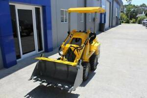 Ozziquip Puma Mini Skid Steer Loader Molendinar Gold Coast City Preview