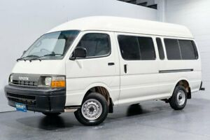 1998 Toyota HiAce LH125R Commuter White 5 Speed Manual Bus