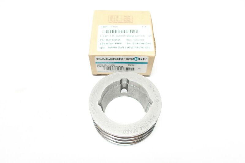Dodge 3/3V3.35-1610 Taper-lock 3 Groove V-belt Sheave
