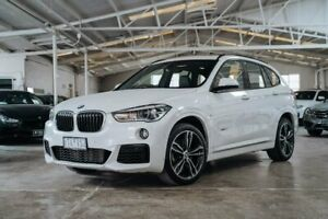 2016 BMW X1 F48 xDrive25i Steptronic AWD White 8 Speed Sports Automatic Wagon Moorabbin Kingston Area Preview
