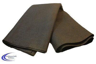 HiFi PA Filz Bespannstoff in schwarz - 150x75 cm - Lautsprecher Stoff 4,86€/m²